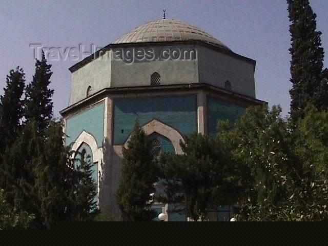 turkey32: Turkey - Bursa / BTZ: the Green Tomb of Sultan Mehmet I - Yesil Turbe - photo by A.Slobodianik - (c) Travel-Images.com - Stock Photography agency - Image Bank