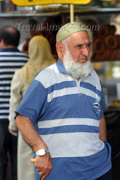 turkey346: Turkey - Antalya: pious man - Muslim man - photo by C.Roux - (c) Travel-Images.com - Stock Photography agency - Image Bank