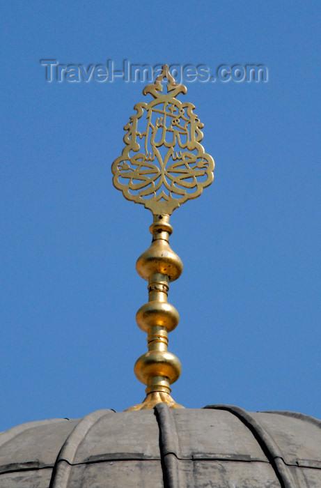 turkey383: Istanbul, Turkey: ablutions fountain - roof decoration - Hagia Sophia - Saint Sophia / Ayasofya / Haghia Sophia - Eminönü District - photo by M.Torres - (c) Travel-Images.com - Stock Photography agency - Image Bank
