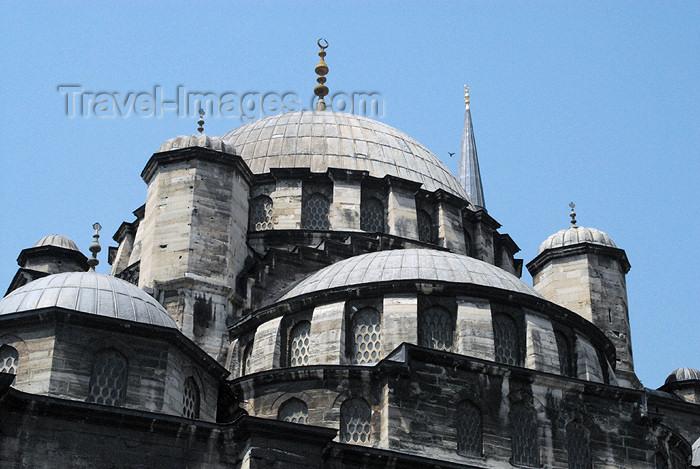 turkey400: Istanbul, Turkey: New mosque - yeni cami - Eminonu - photo by J.Wreford - (c) Travel-Images.com - Stock Photography agency - Image Bank
