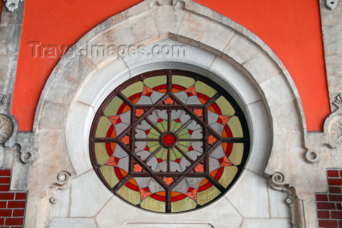 turkey474: Istanbul, Turkey: decorated window - Sirkeci Train Station - Eminönü District - photo by M.Torres - (c) Travel-Images.com - Stock Photography agency - Image Bank