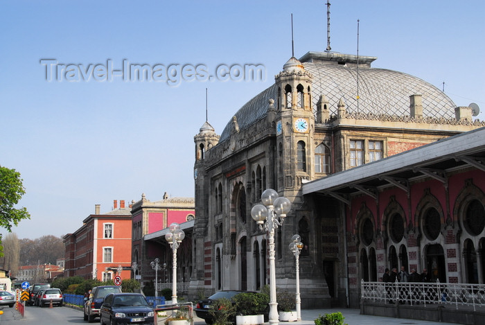 turkey479: Istanbul, Turkey: Sirkeci terminal - the terminus of the Orient Express train - by Prussian architect August Jachmund - Eminönü District - photo by M.Torres - (c) Travel-Images.com - Stock Photography agency - Image Bank