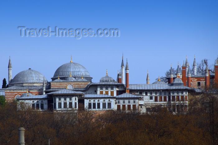 turkey492: Istanbul, Turkey: Topkapi Palace - south façade - Eminönü District - photo by M.Torres - (c) Travel-Images.com - Stock Photography agency - Image Bank