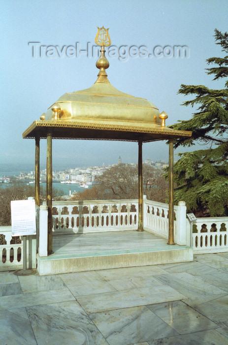 turkey504: Istanbul, Turkey: Topkapi palace - panoramic gazebo - photo by S.Lund - (c) Travel-Images.com - Stock Photography agency - Image Bank
