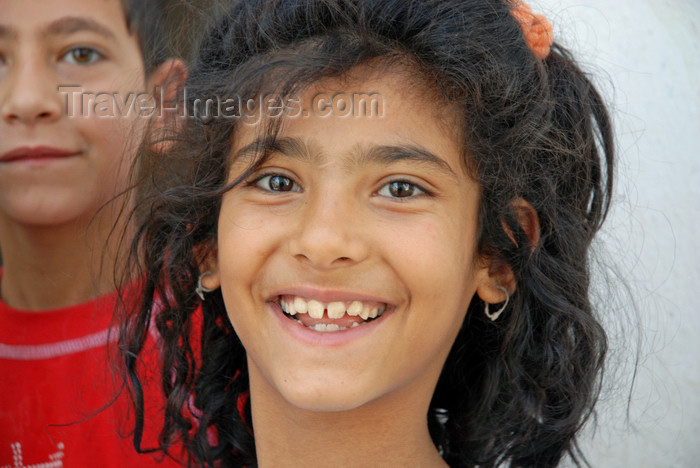 turkey560: Urfa / Edessa / Sanliurfa, Southeastern Anatolia, Turkey: smiling Kurdish girl - photo by W.Allgöwer - (c) Travel-Images.com - Stock Photography agency - Image Bank