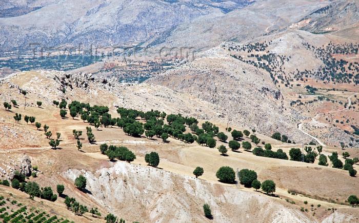 turkey587: Adiyaman province, Southeastern Anatolia, Turkey: Taurus mountains landscape - looking down - photo by W.Allgöwer - (c) Travel-Images.com - Stock Photography agency - Image Bank