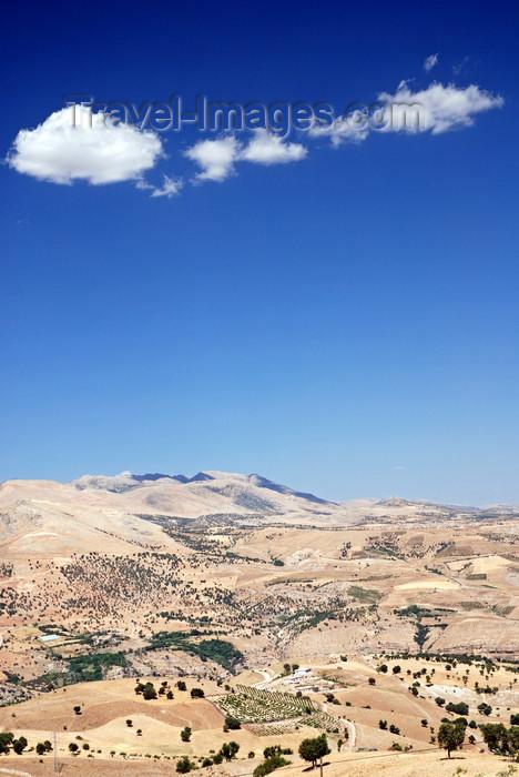 turkey590: Adiyaman province, Southeastern Anatolia, Turkey: Taurus mountains lanscape - instense sky - photo by W.Allgöwer - (c) Travel-Images.com - Stock Photography agency - Image Bank