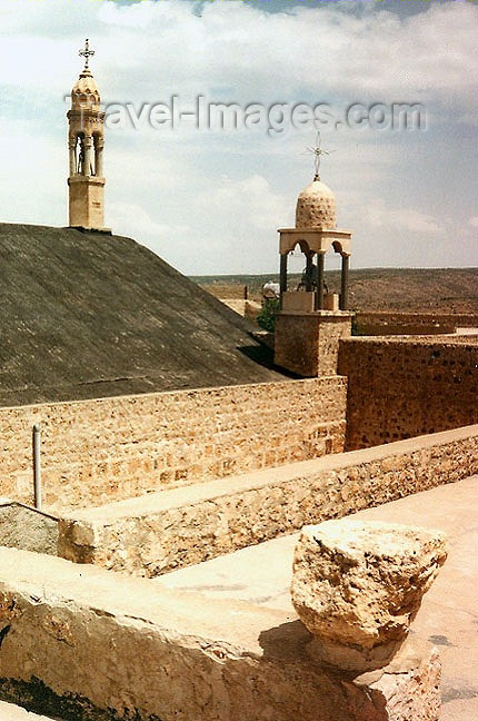 turkey69: Turkey - Mar Gabriel, 120 kilometres north-east of Mardin - Kurdistan (Mardin province): Dayro d-Mor Gabriel ancient patriarchal see of the Syrian Orthodox Church - members were called Jacobites after Jacobeus, Bishop of Edessa - plateau of Tur Abdin - photo by G.Frysinger - (c) Travel-Images.com - Stock Photography agency - Image Bank
