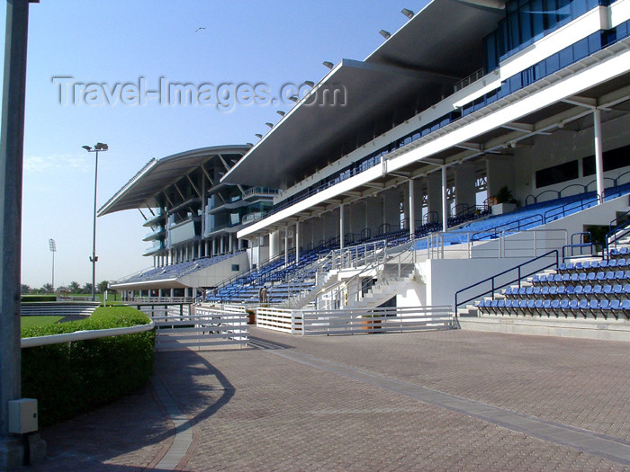uaedb24: UAE - Dubai: Nad Al Sheba Racecourse - grandstand - photo by Llonaid - (c) Travel-Images.com - Stock Photography agency - Image Bank