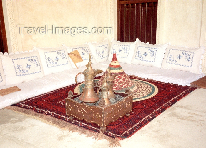 uaesj11: UAE - Sharjah: traditional arab living room - the museum - photo by M.Torres - (c) Travel-Images.com - Stock Photography agency - Image Bank