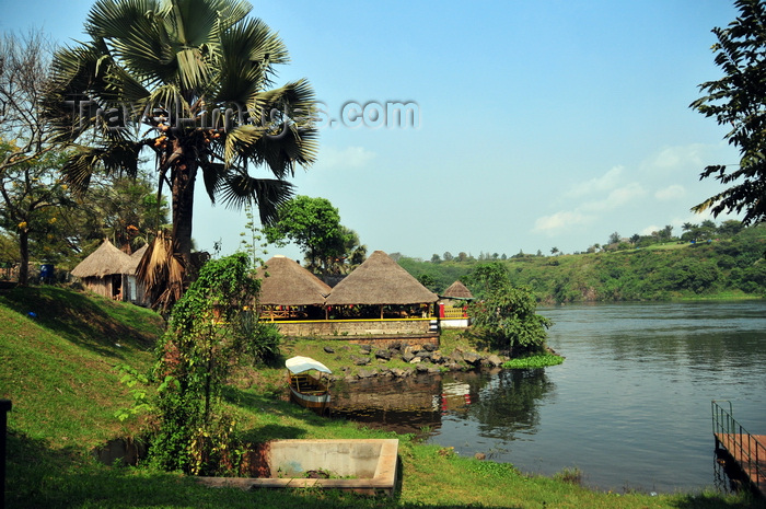 uganda145: Jinja, Uganda: source of the Nile river - small boat terminal on the eastern bank of the Nile - photo by M.Torres - (c) Travel-Images.com - Stock Photography agency - Image Bank