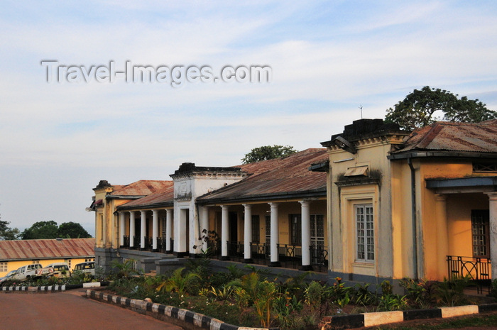 uganda164: Entebbe, Wakiso District, Uganda: 1927 british colonial building used by the Agriculture ministry - photo by M.Torres - (c) Travel-Images.com - Stock Photography agency - Image Bank