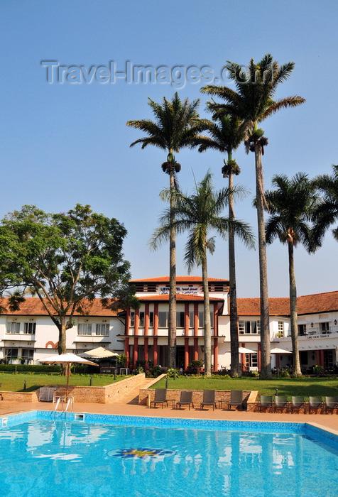 uganda165: Entebbe, Wakiso District, Uganda: Laico Lake Victoria Hotel and its pool - photo by M.Torres - (c) Travel-Images.com - Stock Photography agency - Image Bank