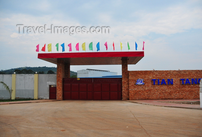 uganda49: Mukono, Uganda: a factory on the main road, the fruit of Chinese investment in Africa's economy - Tian Tang corporation - photo by M.Torres - (c) Travel-Images.com - Stock Photography agency - Image Bank