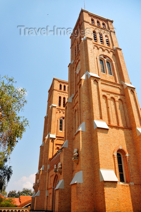 uganda90: Kampala, Uganda: St. Mary's Catholic Cathedral, Rubaga Cathedral, Rubaga hill - seat of the Archdiocese of Kampala - photo by M.Torres - (c) Travel-Images.com - Stock Photography agency - Image Bank