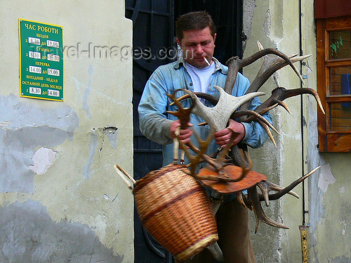 ukra82: Lviv / Lvov, Ukraine: attire man - photo by J.Kaman - (c) Travel-Images.com - Stock Photography agency - Image Bank
