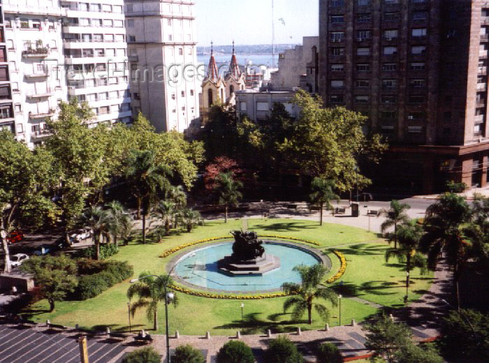 uruguay14: Uruguay - Montevideo: Fabini sq. (photo by M.Torres) - (c) Travel-Images.com - Stock Photography agency - Image Bank
