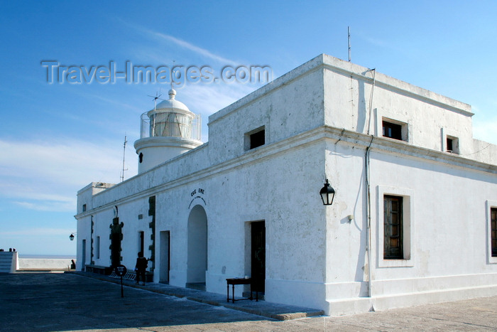 uruguay48: Montevideo, Uruguay: lighthouse at Fortaleza General Artigas aka Cerro fortress - photo by A.Chang - (c) Travel-Images.com - Stock Photography agency - Image Bank