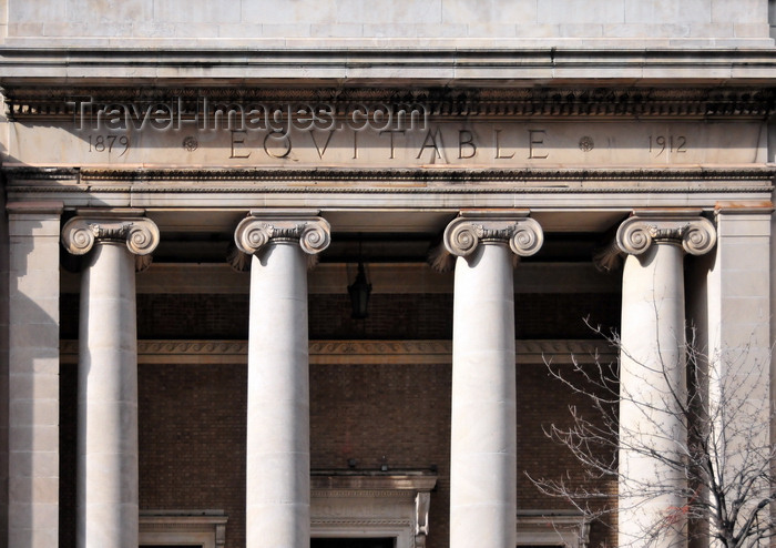 usa1334: Washington, D.C., USA: Equitable Co-operative Building - architect Frederic B. Pyle - Greek revival style - F Street NW - photo by M.Torres - (c) Travel-Images.com - Stock Photography agency - Image Bank