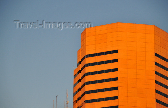 usa1375: Denver, Colorado, USA: Dominion Plaza office complex - pink granite skyscraper - 600 17th Street, Welton Street, CBD - photo by M.Torres - (c) Travel-Images.com - Stock Photography agency - Image Bank