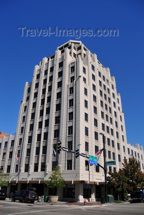 usa1711: Boise, Idaho, USA: Hoff Building - intersection of 8th and Bannock Street - photo by M.Torres - (c) Travel-Images.com - Stock Photography agency - Image Bank