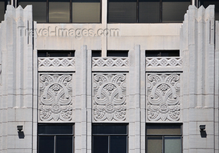 usa1722: Boise, Idaho, USA: Hoff Building - Art Deco floral details - photo by M.Torres - (c) Travel-Images.com - Stock Photography agency - Image Bank