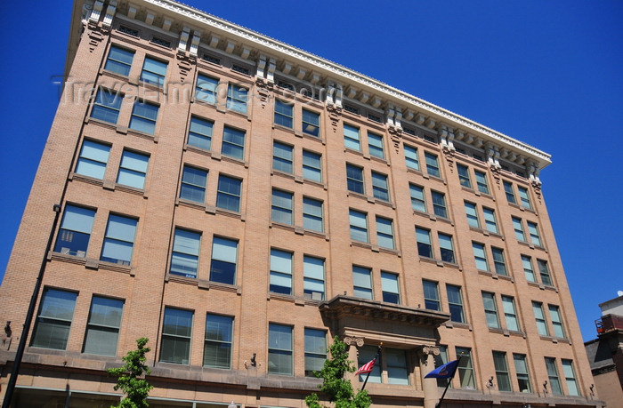 usa1728: Boise, Idaho, USA: Empire building - Chicago-style architecture  - a six-story timber frame with unreinforced masonry exterior walls - 205 N 10th Street - photo by M.Torres - (c) Travel-Images.com - Stock Photography agency - Image Bank