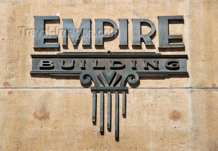 usa1729: Boise, Idaho, USA: Empire building logo - corenr of Idaho and 10th - photo by M.Torres - (c) Travel-Images.com - Stock Photography agency - Image Bank