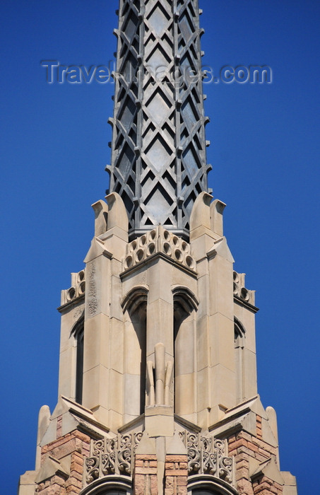 Boise Idaho Usa Metal Spire Of The Cathedral Of The