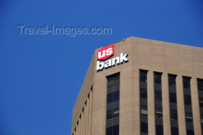 usa1749: Boise, Idaho, USA: US Bank Plaza with the bank logo (former Idaho First Building) - 101 S. Capitol Blvd - photo by M.Torres - (c) Travel-Images.com - Stock Photography agency - Image Bank