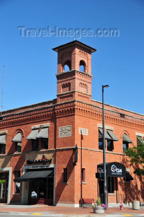 usa1759: Boise, Idaho, USA: old Central Fire Station - Romanesque Style - corner of Reserve St and Idaho St., Old Boise Historic District - photo by M.Torres - (c) Travel-Images.com - Stock Photography agency - Image Bank