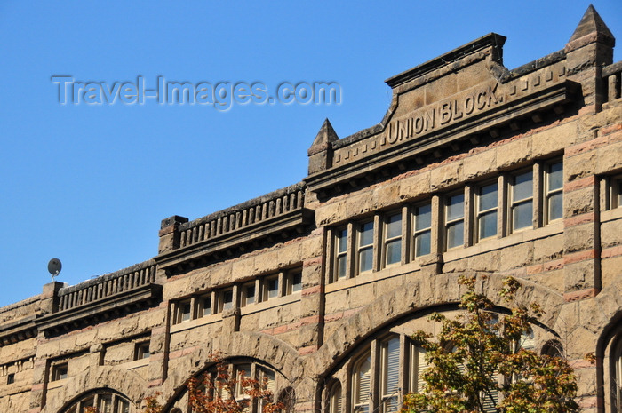 usa1760: Boise, Idaho, USA: Union Block Building - Richardsonian Romanesque Style by architect John E. Tourellotte, completed in 1902 - 720 Idaho St - photo by M.Torres - (c) Travel-Images.com - Stock Photography agency - Image Bank