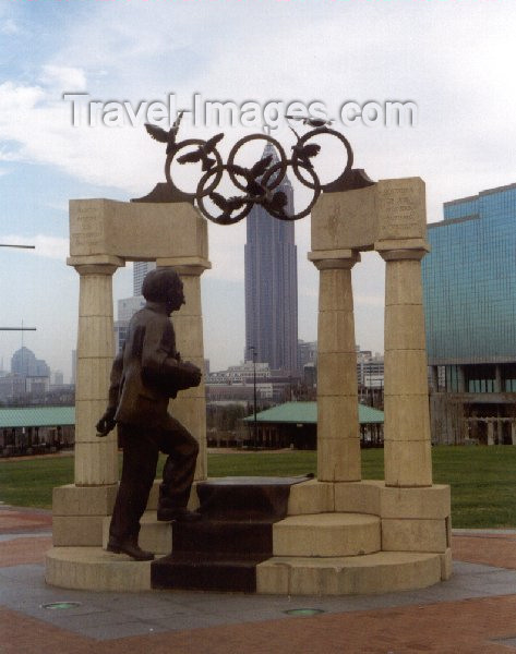 usa18: Atlanta GA: Olympic park - monument - photo by M.Torres - (c) Travel-Images.com - Stock Photography agency - Image Bank