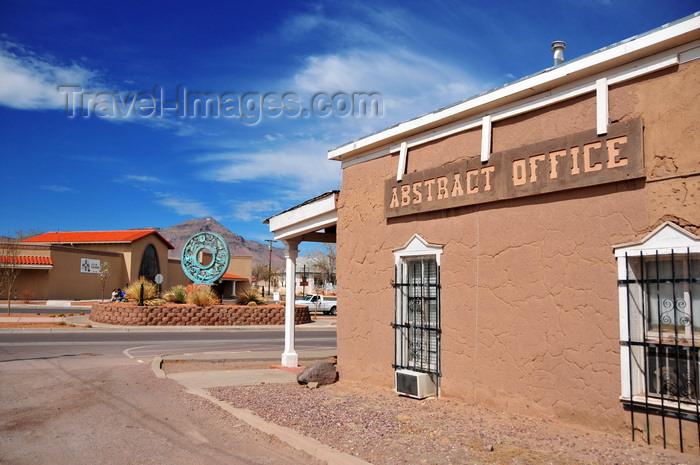 Usa1962 Socorro New Mexico USA Juan Nepomuceno Garcia House Abstrat Office