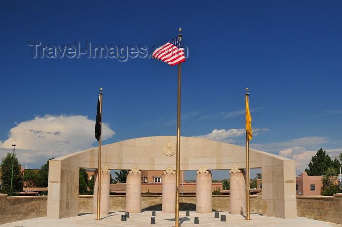 usa199: Santa Fé, New Mexico, USA: New Mexico Veterans memorial - Galisteo Street - photo by M.Torres - (c) Travel-Images.com - Stock Photography agency - Image Bank