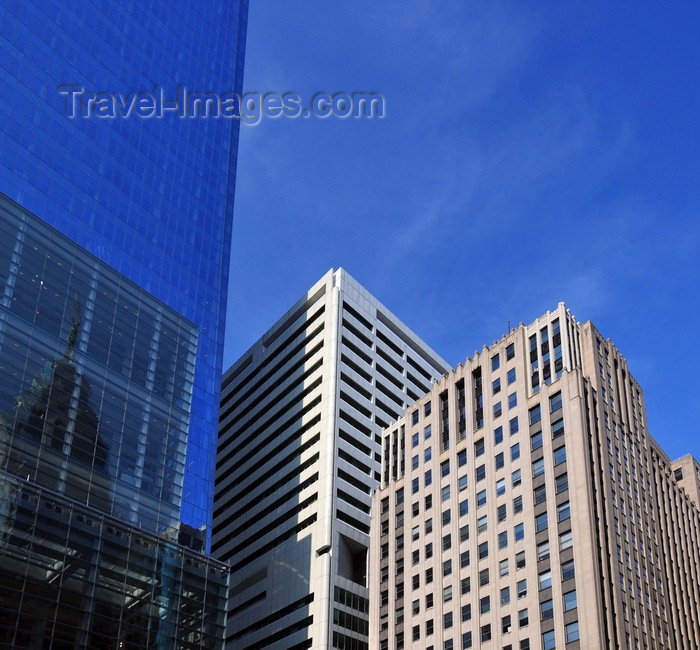 usa212: Philadelphia, Pennsylvania, USA: John F Kennedy Blvd - Comcast Center, Cigna Annex and Suburban Station - photo by M.Torres - (c) Travel-Images.com - Stock Photography agency - Image Bank