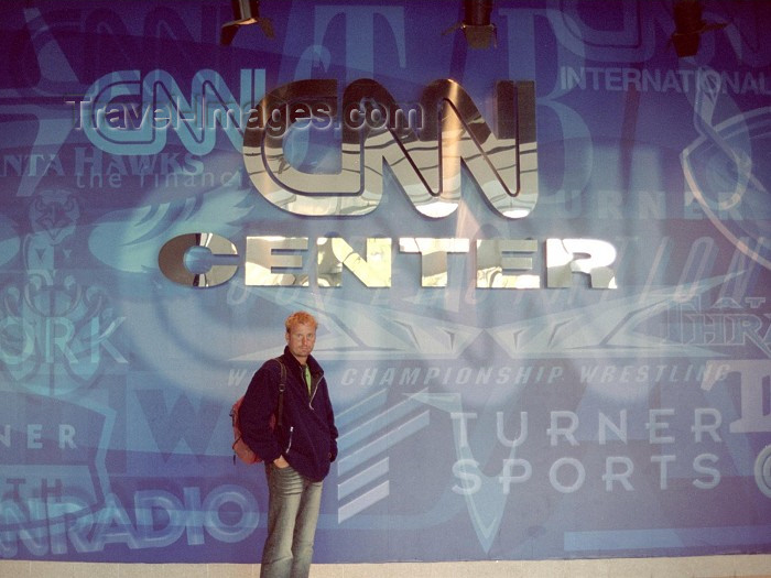 usa247: Atlanta (Georgia): at the CNN Center - photo by M.Bergsma - (c) Travel-Images.com - Stock Photography agency - Image Bank
