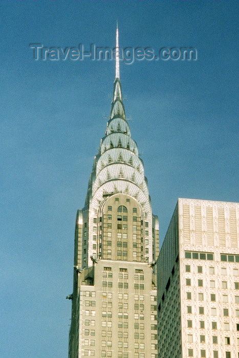 usa25: Manhattan, New York, USA: Chrysler building - architect William van Alen - photo by M.Torres - (c) Travel-Images.com - Stock Photography agency - Image Bank