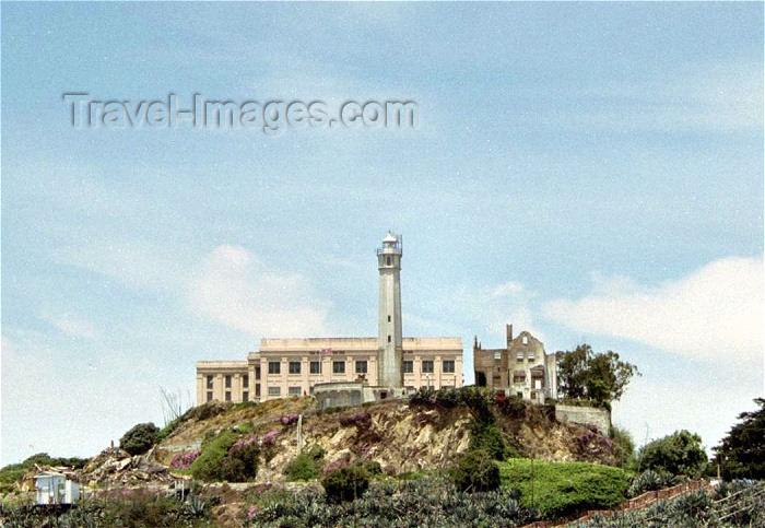 usa255: San Francisco (California): Alcatraz island - US penitentiary - photo by M.Bergsma - (c) Travel-Images.com - Stock Photography agency - Image Bank