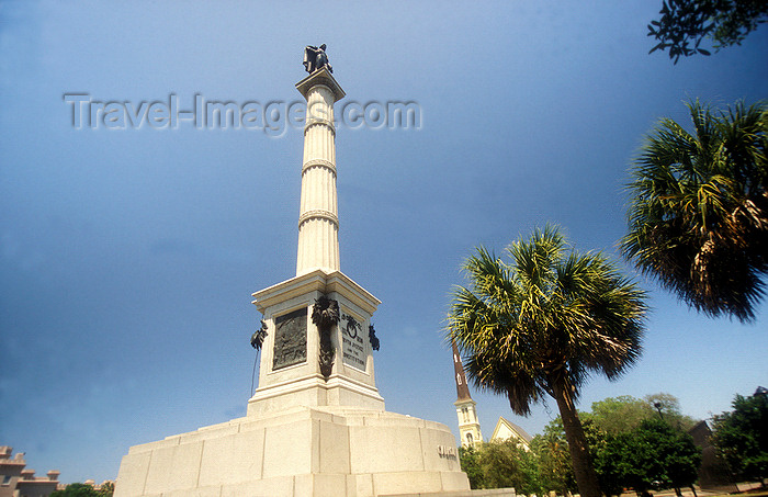Charleston  South Carolina  Usa  John C  Calhoun Monument