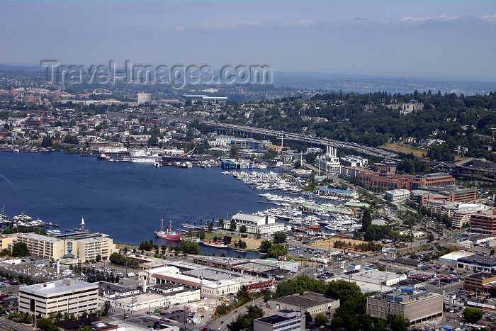 usa338: Seattle, Washington, USA: view  from the Spaceneedle - photo by R.Ziff - (c) Travel-Images.com - Stock Photography agency - Image Bank