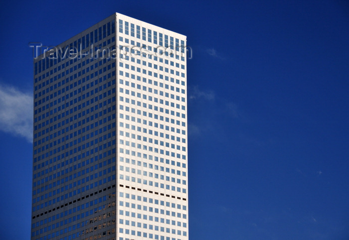 usa411: Denver, Colorado, USA: Republic Plaza - tallest skyscraper in the Mile High City - Sardinian granite façade - Skidmore, Owings & Merrill architects - 17th Street, Tremont Place, CBD - photo by M.Torres - (c) Travel-Images.com - Stock Photography agency - Image Bank