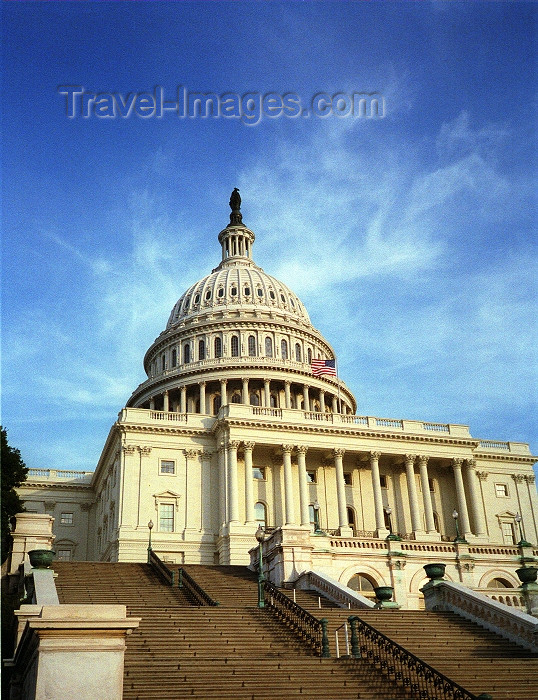 usa432: Washington D.C., USA: the Capitol - Capitol Hill - National Mall - photo by G.Friedman - (c) Travel-Images.com - Stock Photography agency - Image Bank