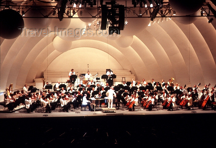 usa476: Los Angeles (California): Hollywood Bowl - orchestra - Photo by G.Friedman - (c) Travel-Images.com - Stock Photography agency - Image Bank