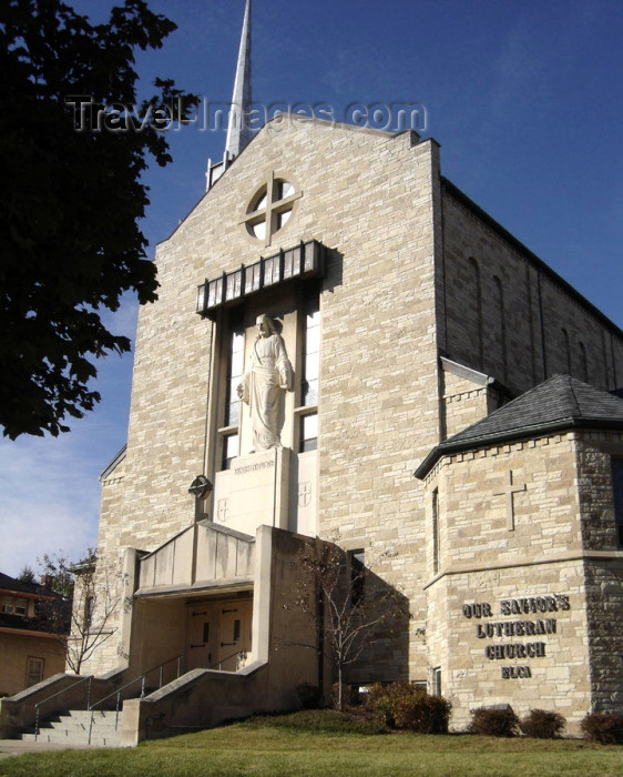 usa545: Milwaukee (Wisconsin): Our Savior's Lutheran Church - photo by G.Frysinger - (c) Travel-Images.com - Stock Photography agency - Image Bank