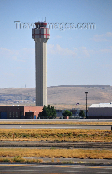 usa584: Boise, Idaho, USA: new control tower on the Air National Guard side - Boise Airport - Gowen Field - BOI - photo by M.Torres - (c) Travel-Images.com - Stock Photography agency - Image Bank
