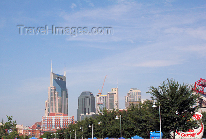 usa755: Nashville - Tennessee, USA: downtown - skyscrapers - photo by M.Schwartz - (c) Travel-Images.com - Stock Photography agency - Image Bank