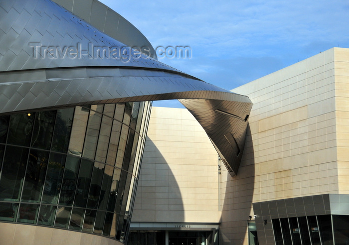 usa908: Charlotte, North Carolina, USA: NASCAR Hall of Fame - curve detail - architects Pei Cobb Freed & Partners - E. Martin Luther King, Jr. Blvd - photo by M.Torres - (c) Travel-Images.com - Stock Photography agency - Image Bank
