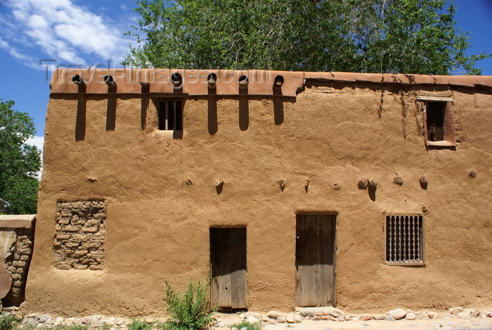usa920: Santa Fé, New Mexico, USA: Sante Fé's oldest house (1646), claimed to be also the oldest in the United States of America built by Europeans - E De Vargas St, Barrio De Analco Historic District - photo by A.Ferrari - (c) Travel-Images.com - Stock Photography agency - Image Bank