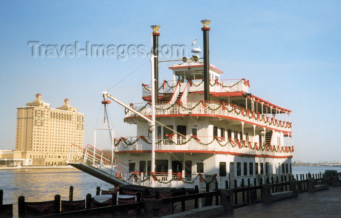 usa927: USA - Savannah (Georgia): Savannah river steam boat - photo by M.Torres - (c) Travel-Images.com - Stock Photography agency - Image Bank